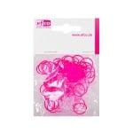 Ластички за плетене на гривни Rubber Loops, 100 бр., неоноворозови