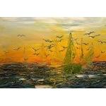 Mасленa боя SOLO Goya, 20 ml, Brown Lake, yellowish