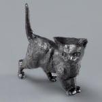 Миниатюра, котка, 27 mm, 4 бр., черна