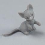 Миниатюра, мишка, 12 mm, 8 бр., сива