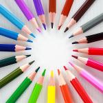 Цветни моливи CREALL Maxi, лакирани