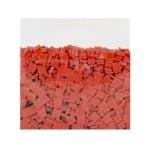 Мозаечни плочки MosaixPro, стъкло, 10x10x4 mm,1500 бр., червени