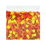 Мозаечни плочки MosaixPro, стъкло, 10x10x4 mm,1500 бр., червени разни