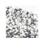 Мозаечни плочки MosaixPro, стъкло, 10x10x4 mm,1500 бр., сиви смесени