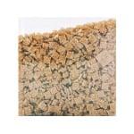Мозаечни плочки MosaixPro, стъкло, 10x10x4 mm,1500 бр., светло кафяви