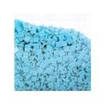 Мозаечни плочки MosaixPro, стъкло, 10x10x4 mm,1500 бр., св.лазурно син