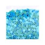Мозаечни плочки MosaixPro, стъкло, 10x10x4 mm,1500 бр., тюркоазен микс
