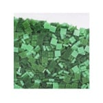 Мозаечни плочки MosaixPro, стъкло, 10x10x4 mm,1500 бр., зелени смесени