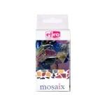 Мозаечни плочки MosaixSoft, стъкло, 200 g, смесени цветни