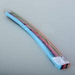 Набор ленти 130 g/m2, 2 x 50 cm, 200 л., разноцветни