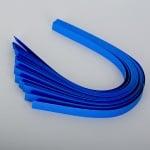 Набор ленти за празнични звезди, 130 g/m2, 1,5 x 45 cm, 80 л., сини