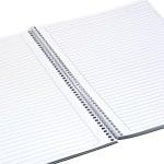 Тетрадка Notte Point, A4, спирала, PP корица, 100 л., ред, 60 g/m2