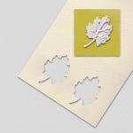 Пънч ембосиращ, Глог лист, ~ 32 mm