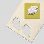 Пънч ембосиращ, Ясенов лист, ~ 32 mm