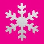 Пънч Typ M, Снежинка, ~ 2,5 cm