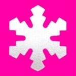 Пънч Typ S, Снежинка, ~ 1,6 cm