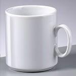 Порцеланова чаша за кафе, 8,5 cm (0,3 l), бяла