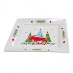 Порцеланова чиния с Коледни мотиви
