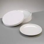 Порцеланова чиния в подаръчна кутия, ф 19 cm, 4