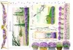 Декупажна тишу хартия, PROVENCE, 35 x 50 cm