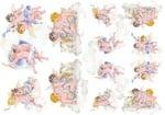 Декупажна тишу хартия, PUTTI 2, 35 x 50 cm