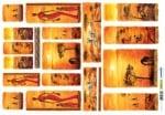 Декупажна тишу хартия, ETNICO, 35 x 50 cm