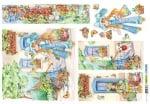 Декупажна тишу хартия, CLOE, 35 x 50 cm