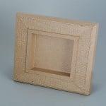 Рамка от папие маше с орнаменти, правоъгълник