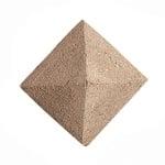 Декоративна фигура RicoDesign, ПИРАМИДА, MDF, 3/3/1 cm