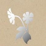 Декоративна фигура RicoDesign, МАЛКО ЛЮТИЧЕ, SILVER, 7.5/20.5 cm