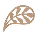 Декоративна фигура RicoDesign, МОТИВ 1, MDF, 7.7/11 CM