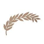 Декоративна фигура RicoDesign, ЛАВРОВА КЛОНКА, MDF, 24.5/12 CM