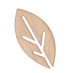 Декоративна фигура RicoDesign, ЛИСТ СТИЛИЗИРАН, MDF, 7/3.5 cm