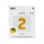 Фолиев балон, 36 cm, злато