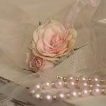 Роза, Dior rose, ø 15 mm, бяла