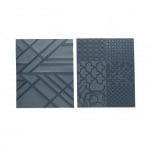 Текстурен шаблон за глина Sculpey, Geometric, 7 части