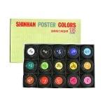 Комплект плакатни бои SUPER POSTER, 30 ml, 15 цв.