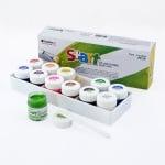 Комплект плакатни бои S+ART, 15 ml, 12 цвята