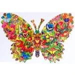 Пъзел художествен WENTWORTH,Butterfly kaleidoscope,210 части