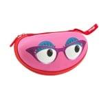 Калъф за очила Beast, 17x6x9cm, розов
