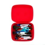 Кутия за съхранение с дръжка Beast, 23x8x19cm, синя щампа