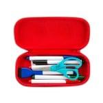 Моливник Beast 20x4.5x9cm, синя щампа