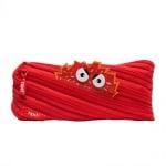 Несесер Talk Monst, 22 x 2 x 10 cm, червен
