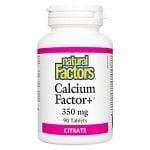 КАЛЦИЙ ФАКТОР+  350 мг * 90 таблетки