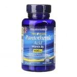ПАНТОТЕНОВА КИСЕЛИНА каплети 500 мг защита срещу психически и физически стрес * 100 HOLLAND & BARRETT