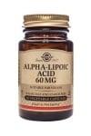 АЛФА ЛИПОЕВА КИСЕЛИНА подобрява физическите възможности при спортуване  60 мг. * 30капс., СОЛГАР
