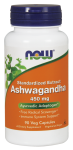 АШВАГАНДА - подсилва имунната система -  капсули 450 мг. х 90, NOW FOODS