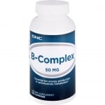 ВИТАМИН В КОМПЛЕКС - съдържа всички 8 незаменими витамини - капсули х 100, GNC
