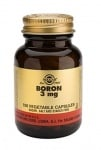 БОР - помага при менопауза и остеопороза - капсули 3 мг. х 100, SOLGAR