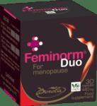 ФЕМИНОРМ ДУО - възстановява хормоналния баланс при жени в период на менопауза - капсули 440 мг. х 30, BOROLA